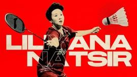 INFOGRAFIS: Deret Gelar Terbaik Liliyana Natsir