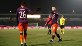 Man City ke Final Piala Liga Usai Kalahkan Burton Albion