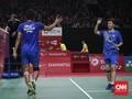 Canda Liliyana dan Tontowi Usai ke Final Indonesia Masters