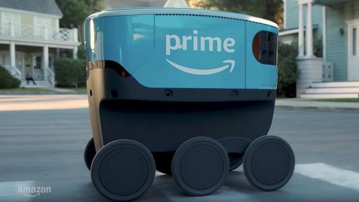 Amazon mulai uji coba gunakan robot untuk antarkan paket ke pelanggan