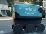 Bukan Kurir, Amazon Mulai Pakai Robot untuk Antar Paket