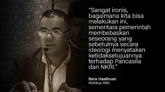 Bara Hasibuan, Politikus PAN.