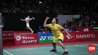Jonatan Andalkan Riuh Suporter di Semifinal Indonesia Masters