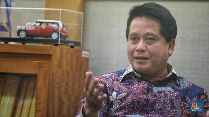 PT Bank Mandiri Tbk (BMRI) mengaku belum menerima surat ijin dari Bank Indonesia (BI) terkait kerjasama dengan raksasa dompet digital Alipay.