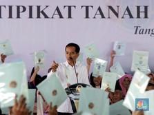 Top! Jokowi Bakal Ganti Sertifikat Tanah Jadi Digital