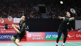 Kalahkan Juara Dunia, Ahsan/Hendra Lolos ke Semifinal