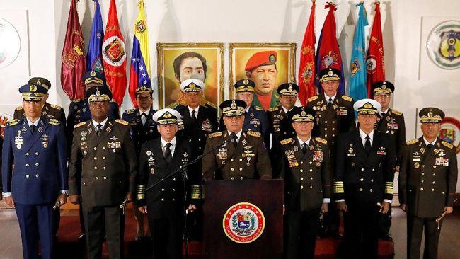 Militer Venezuela Tegaskan Setia pada Nicolas Maduro