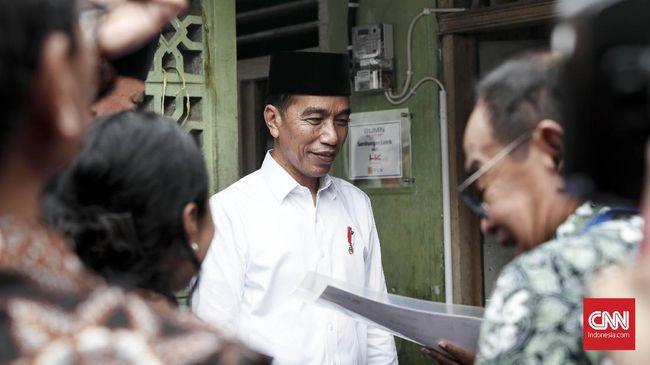 Jokowi soal Dolar AS di Bawah Rp14 Ribu: Alhamdulillah