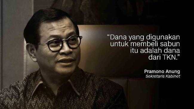 Sekretaris Kabinet, Pramono Anung.