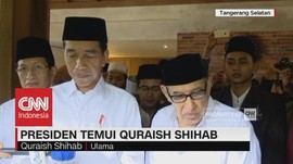 Ditemani Iriana, Presiden Jokowi Temui Quraish Shihab
