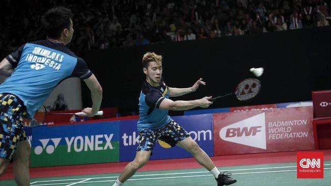 Kevin/Marcus Puji Ahsan/Hendra Usai Final Indonesia Masters