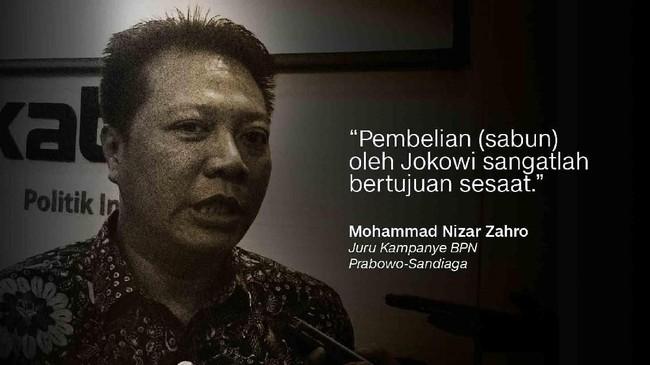 Juru Kampanye BPN Prabowo-Sandiaga, Mohammad Nizar Zahro.
