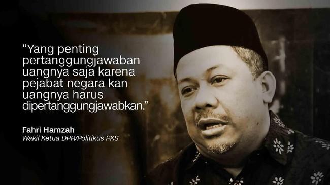 Wakil Ketua DPR/Politikus PKS, Fahri Hamzah.