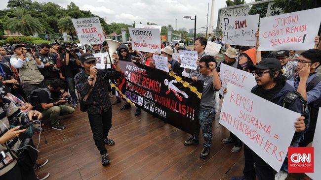 AJI Galang Petisi Desak Jokowi Cabut Remisi Pembunuh Jurnalis