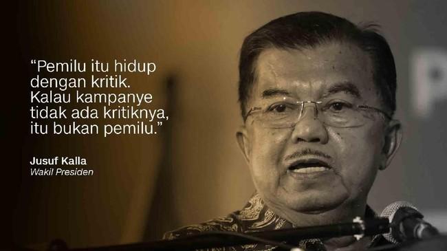 Wakil Presiden, Jusuf Kalla.