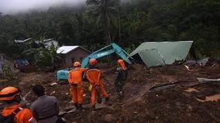 Longsor di Proyek Double Track Rel Sukabumi-Bogor, 2 Tewas