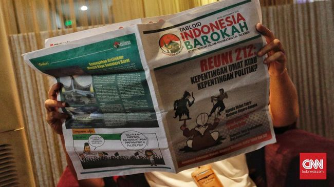 Dewan Pers: Indonesia Barokah Bukan Produk Jurnalistik