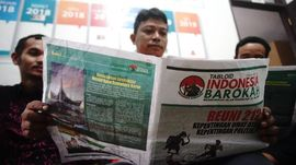 Polisi Setop Sementara Distribusi Tabloid Indonesia Barokah