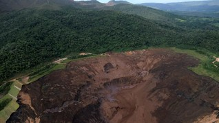 Bendungan Tailing di Brasil Jebol, Vale SA Ganti Rugi Rp1,4 T
