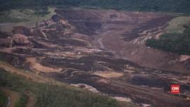 VIDEO: Bendungan Bijih Besi di Brasil Jebol, 150 Orang Hilang