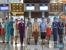 70 Tahun Garuda, Lilin Hingga Nuansa Vintage Pramugari