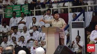 Prabowo Sebut Lonjakan Jumlah Penduduk Jadi Beban Negara