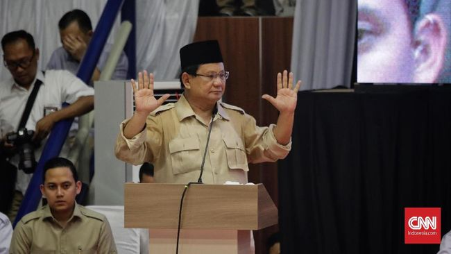 Doa Mbah Moen Isu Paling Disukai Pendukung Prabowo