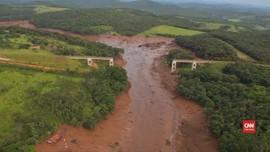VIDEO: Korban Jebolnya Bendungan Brasil Bisa Capai 300 Orang