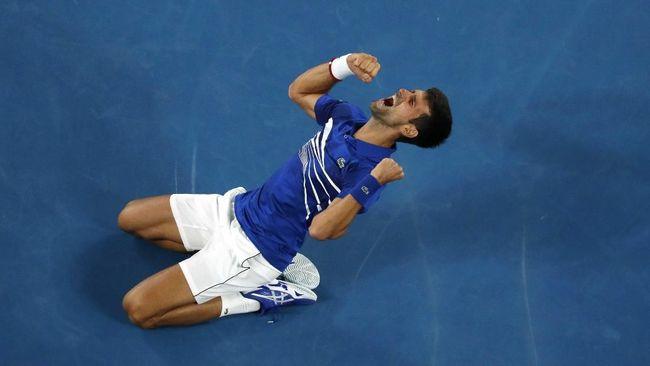 Kalahkan Nadal, Djokovic Cetak Rekor Australia Terbuka