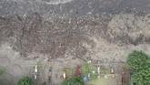 Riset terbaru Sustainable Waste Indonesia (SWI) mengungkapkan dari sekitar 65 juta ton sampah yang diproduksi di Indonesia tiap hari, sekitar 15 juta ton mengotori ekosistem dan lingkungan karena tidak ditangani. ANTARA FOTO/Nyoman Hendra Wibowo/nym/nz.