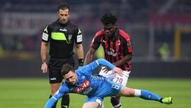 Tujuh Fakta Menarik Hasil Imbang Milan dan Napoli