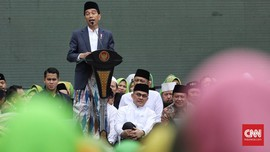 Jokowi Ajak Warga NU Jaga Toleransi