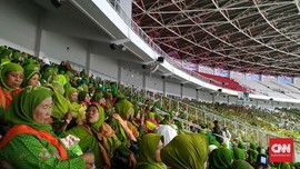Harlah Muslimat NU ke-73 Bersih dari Atribut Partai Politik