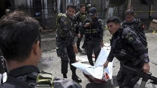 Bom Bunuh Diri Meledak di Dekat Markas Militer Filipina