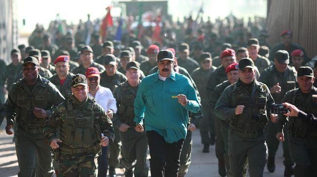 Militer AS Sebut Tentara Venezuela Kelaparan