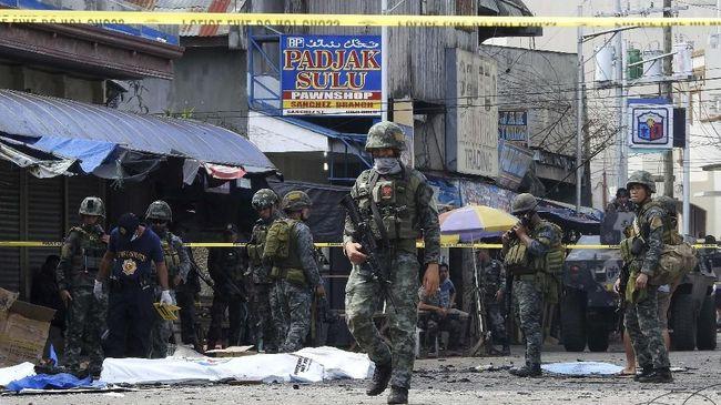 WNI Diduga Jadi Pelaku Pengeboman Pasukan Anti-Teror Filipina