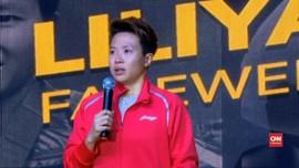 VIDEO: Detik-detik Liliyana Natsir Menangis di Istora