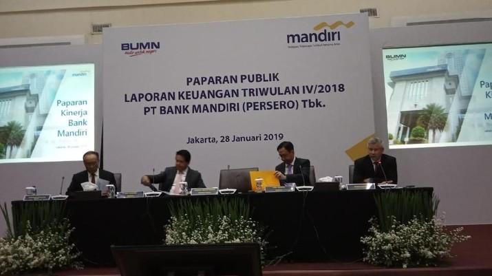Hal tersebut disampaikan Bank Mandiri dalam keterbukaan informasi yang disampaikan ke Bursa Efek Indonesia.