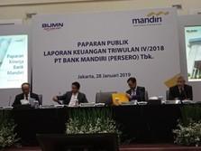 Hai Investor! Bank Mandiri Hasilkan Rp 536 untuk Tiap Saham