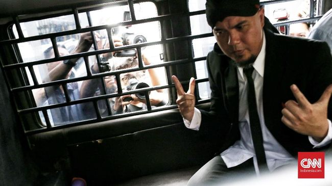 Kapasitas Penjara Ahmad Dhani 1.500 Orang, Dihuni 2.900 Napi