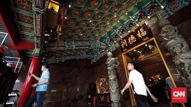 Vihara Hok Tek Ceng Sin juga sering digunakan olehkelompok pedagang Tionghoa di Tanah Abang untuk bersembahyang.