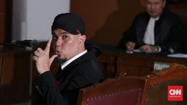 Ahmad Dhani Daftarkan Memori Banding ke PN Jaksel