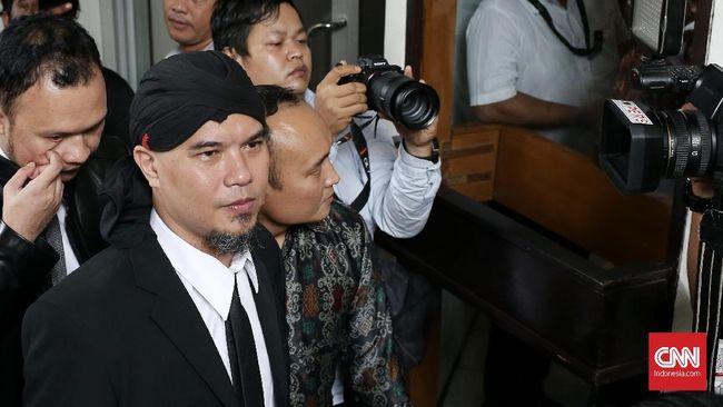 Kubu Jokowi Minta Vonis Ahmad Dhani Tak Direspons Berlebihan