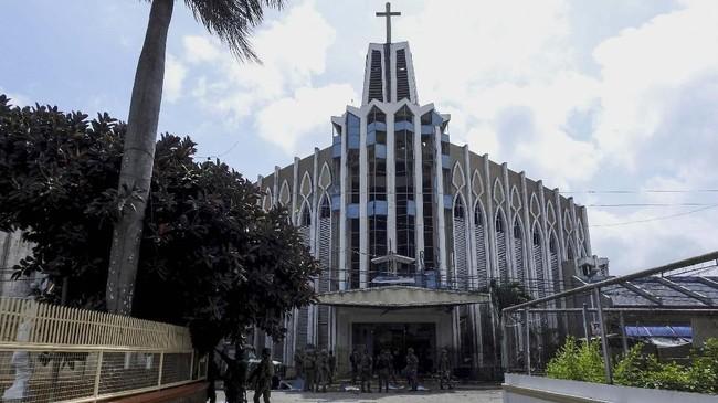 Daerah otonomi itu mencakup sebagian besar wilayah Mindanao, termasuk Sulu, lokasi gereja target pemboman itu berada. (AFP Photo/Nickee Butlangan)