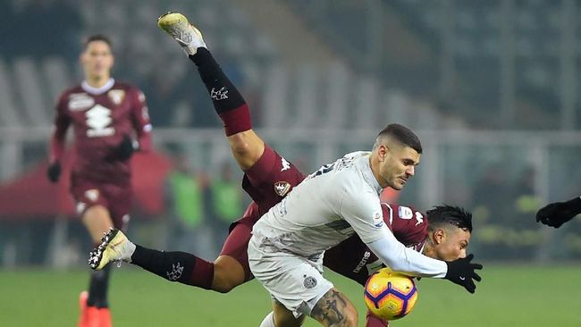 Torino Menang Tipis atas Inter Milan