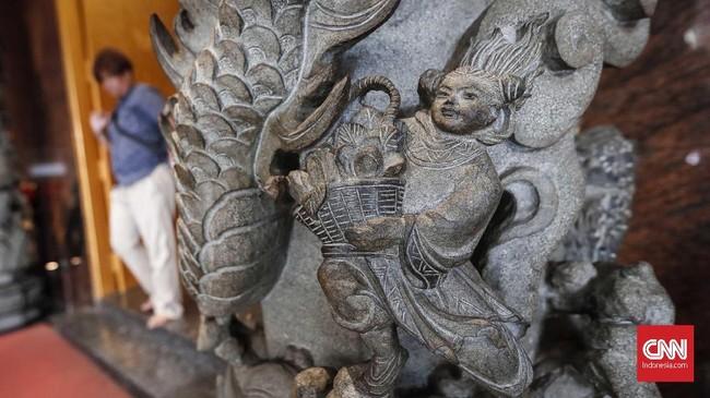 Selain sebagai tempat ibadah, Vihara Hok Tek Ceng Sinjuga menjadi destinasi wisata di Jakarta.