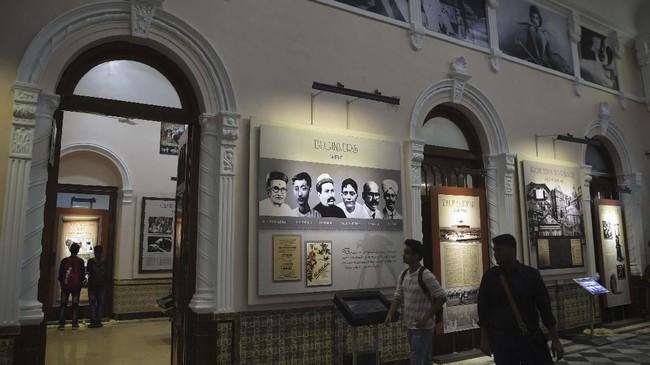 NMIC seharusnya bisa dibuka pada 2014, karena ide membangun museum itu bahkan sudah ada sejak 2006. Namun penambahan ruang pada bangunan membuatnya baru bisa dinikmati sekarang. (AFP/PUNIT PARANJPE)