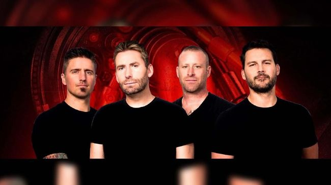 Nickelback Gelar Konser Perdana di Asia Tenggara Februari Ini