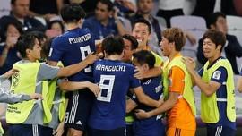 FOTO: Jepang Lolos ke Final Piala Asia 2019