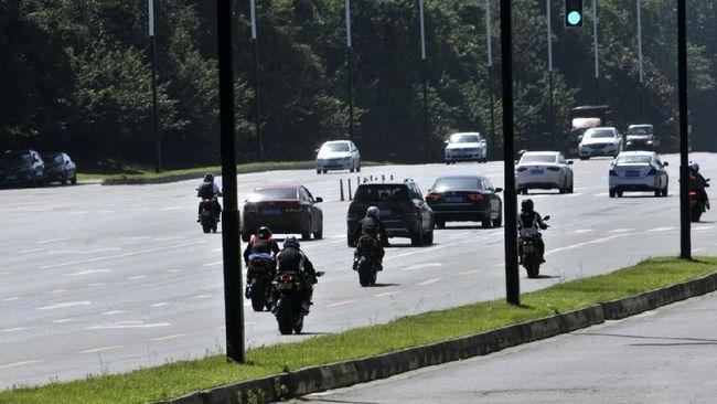Polling: Banyak Tak Setuju Motor Masuk Tol